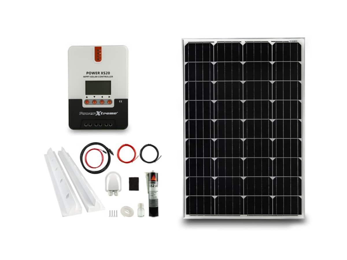 Power XS20 Solar MPPT 100W Pakket (1200x540x30)