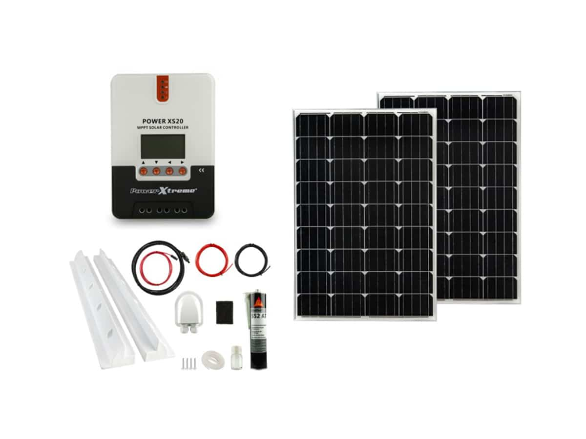 Power XS20 Solar MPPT 200W Pakket (1200x540x30)