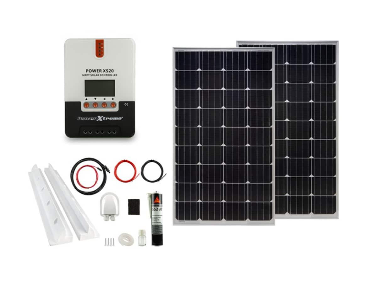 Power XS20 Solar MPPT 260W Pakket (1480x540x30)