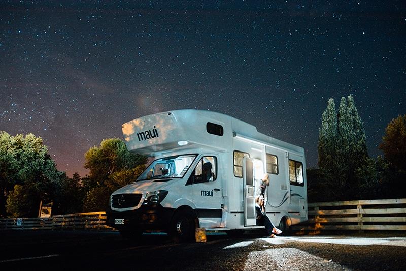Afbeelding Van Een Camper Met PowerXtreme Lithium Accu