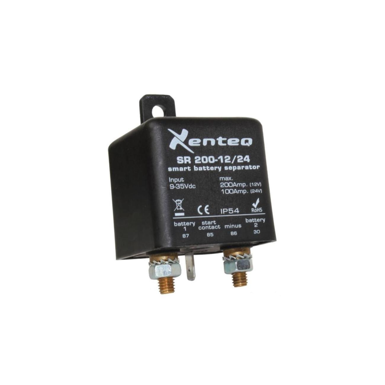 Isolating Relay 12/24Vdc, 200Amp Max. (SR 200-12/24)