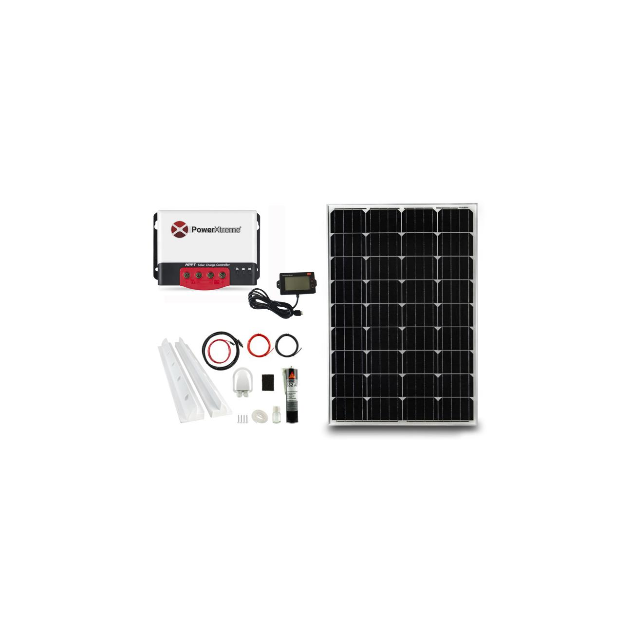 Power XS20s Solar MPPT With Display 100W Package