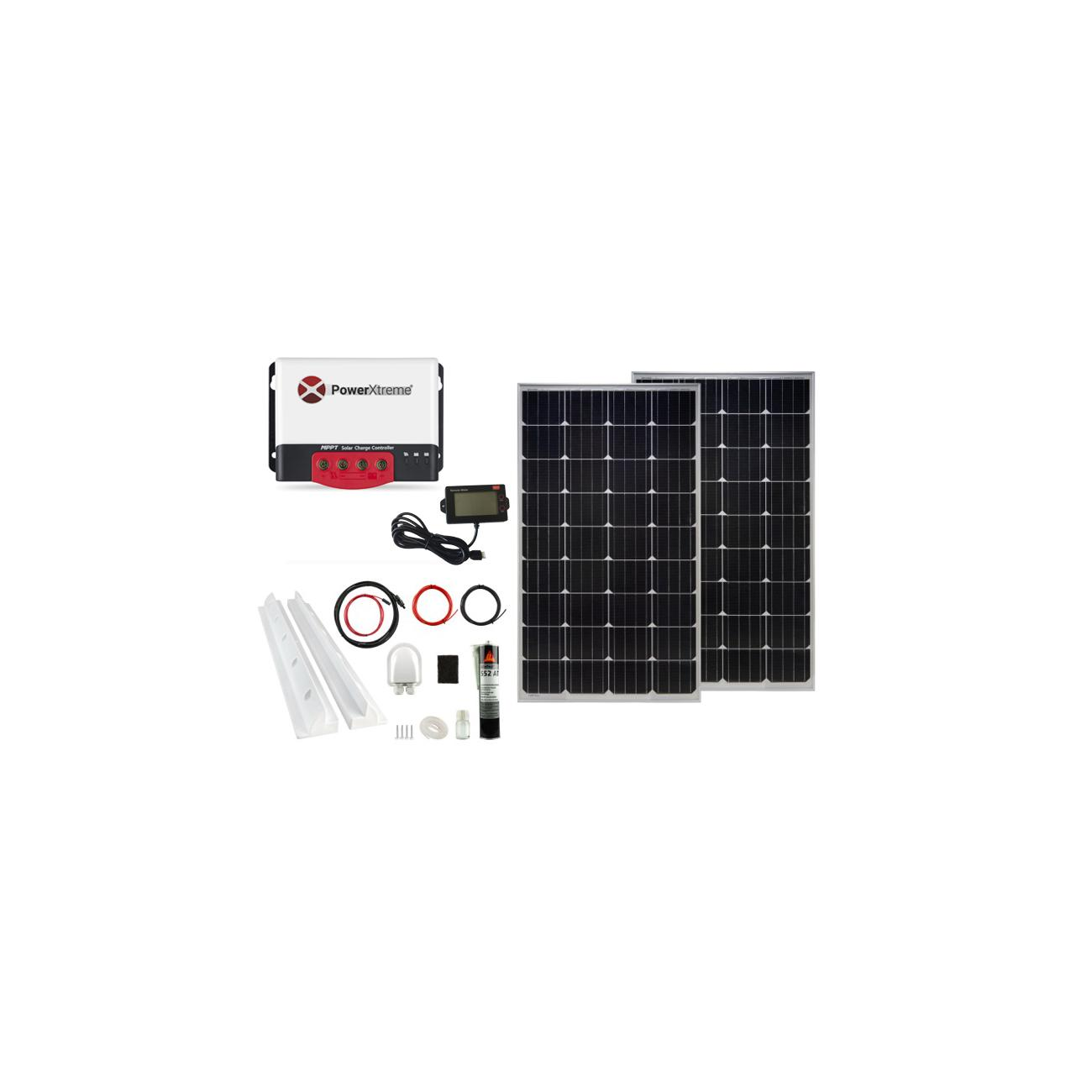 Power XS20s Solar MPPT With Display 260W Package