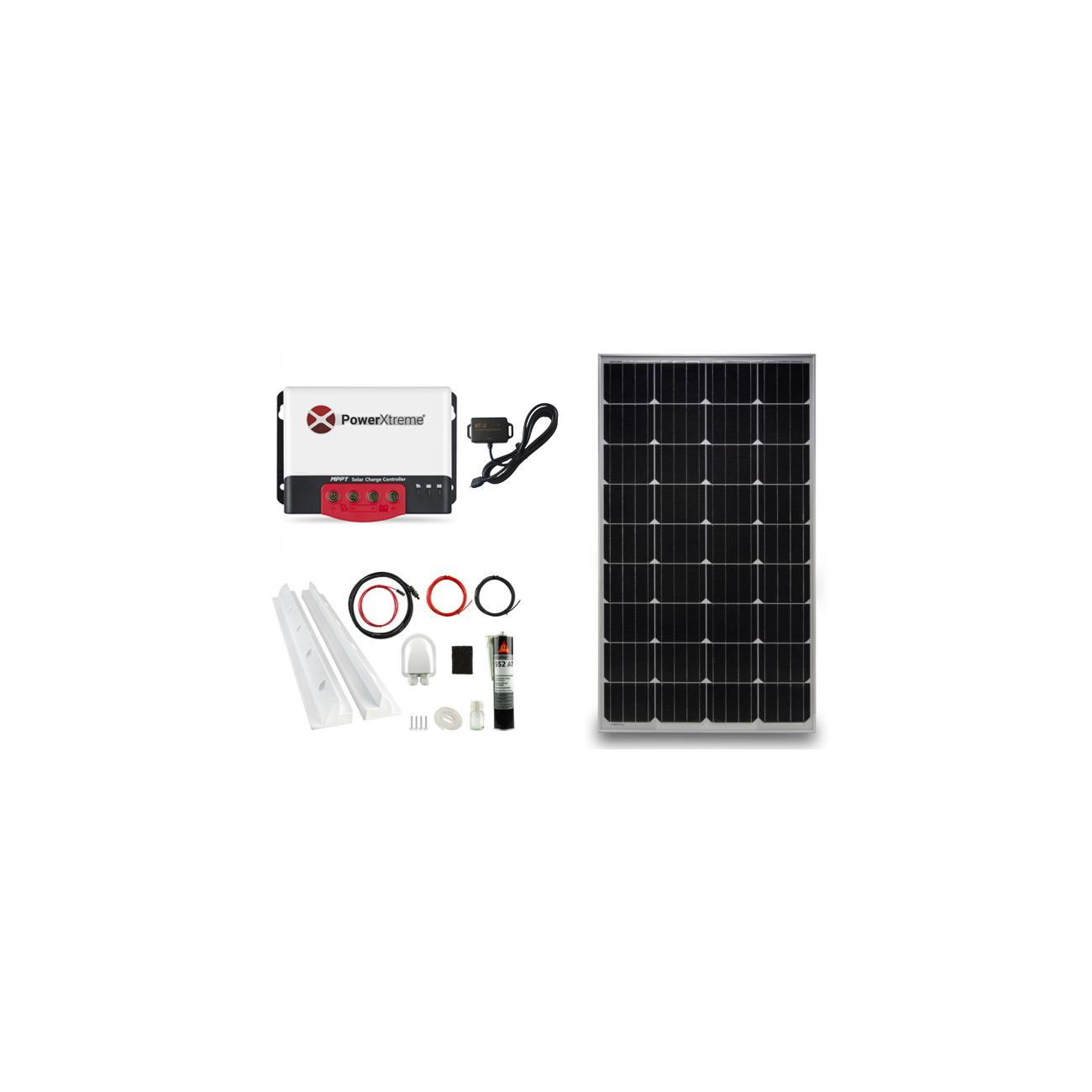 Power XS20s Solar MPPT With Bluetooth 130W Package