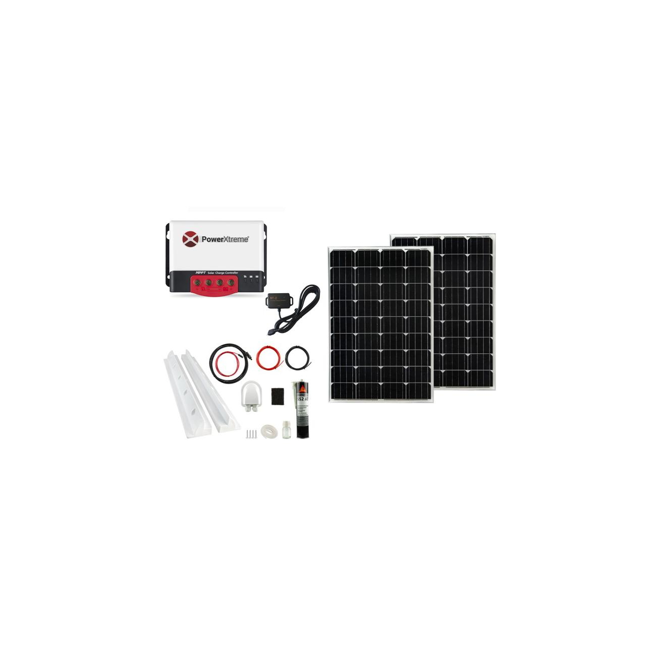 Power XS20s Solar MPPT With Bluetooth 200W Package
