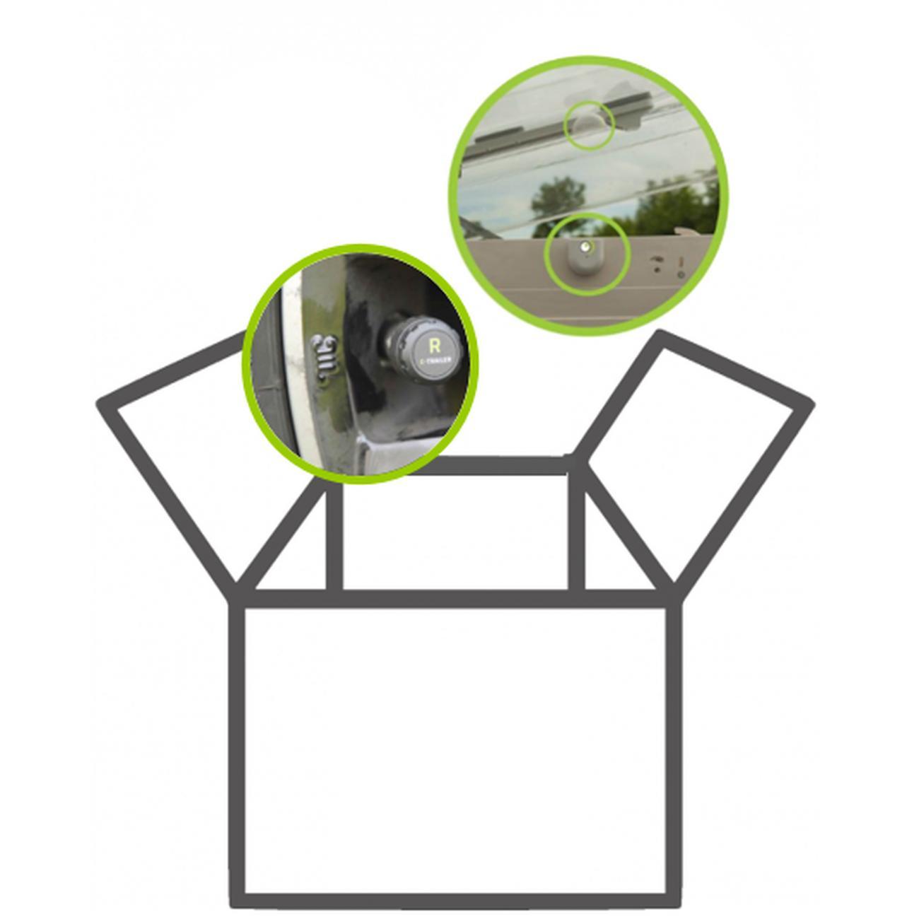 E-Trailer Safety Camper (2x Pressure-Switch)