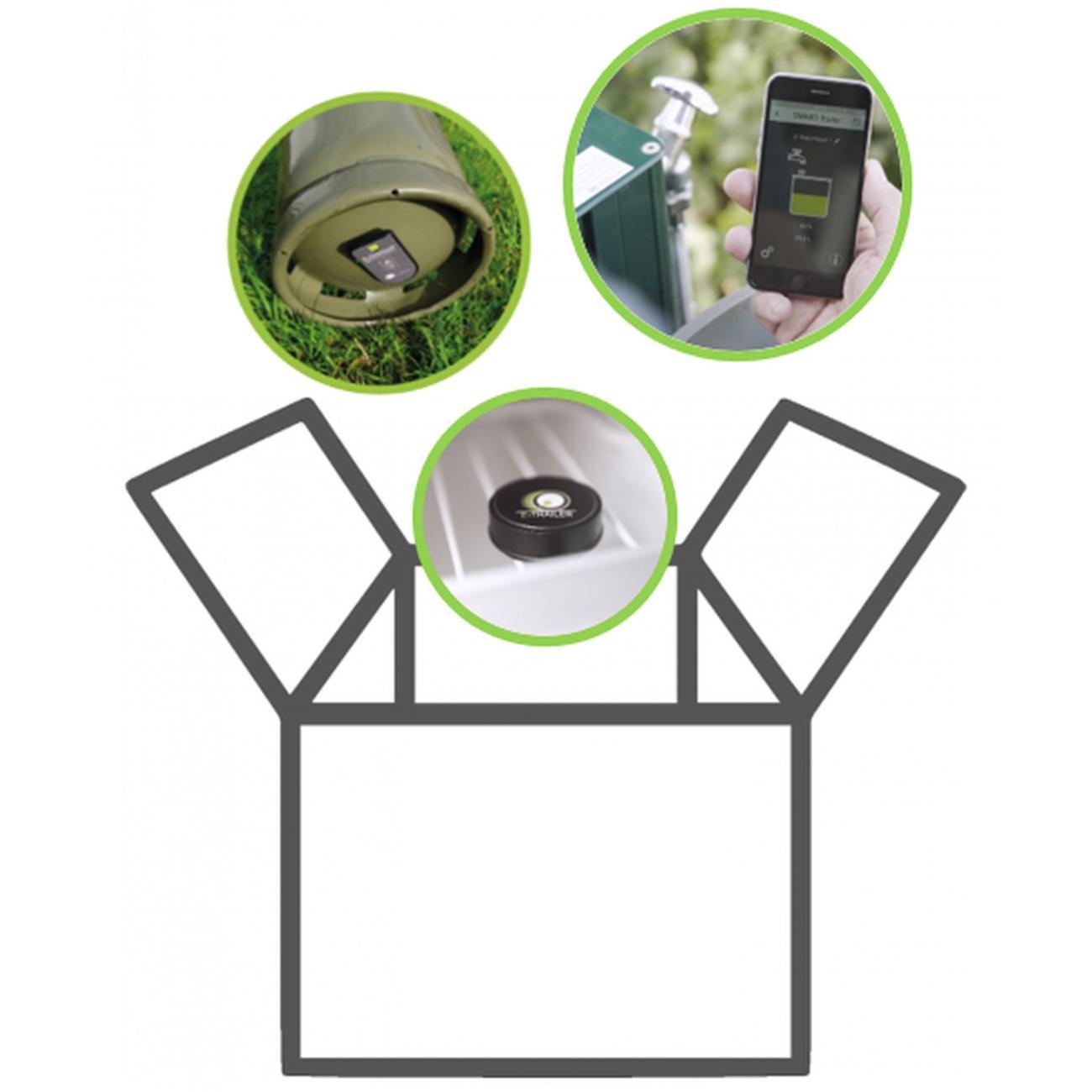 E-Trailer Comfort  (Temp-Gas-Waterlevel)