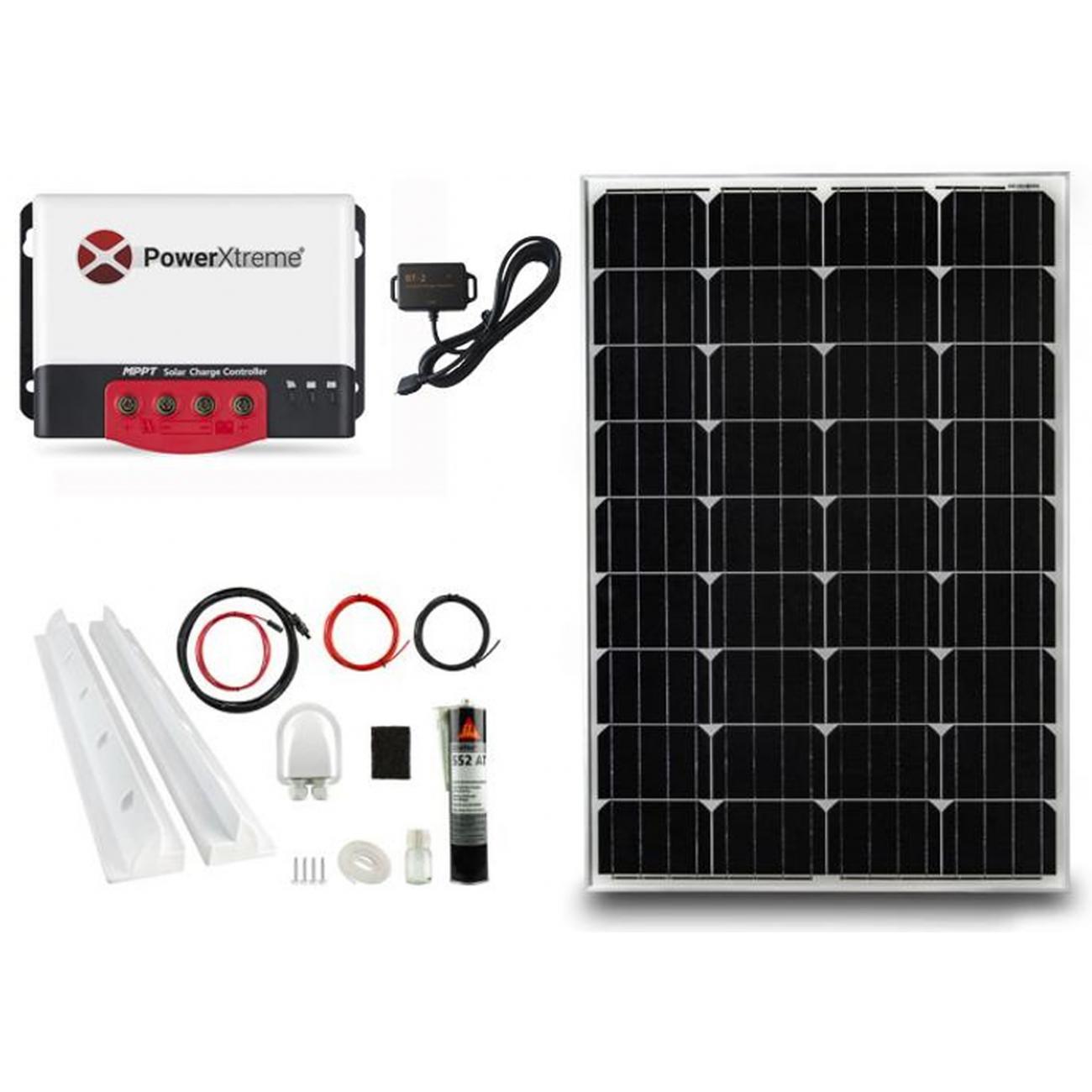 PowerXtreme XS20s Solar MPPT Met Bluetooth 130W Pakket